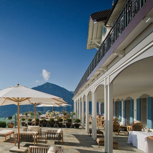 restaurant and terrace lounge hotel villa honegg b rgenstock. Black Bedroom Furniture Sets. Home Design Ideas